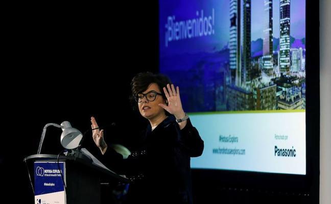 La vicepresidenta: «Puigdemont ha llegado al final del trayecto»