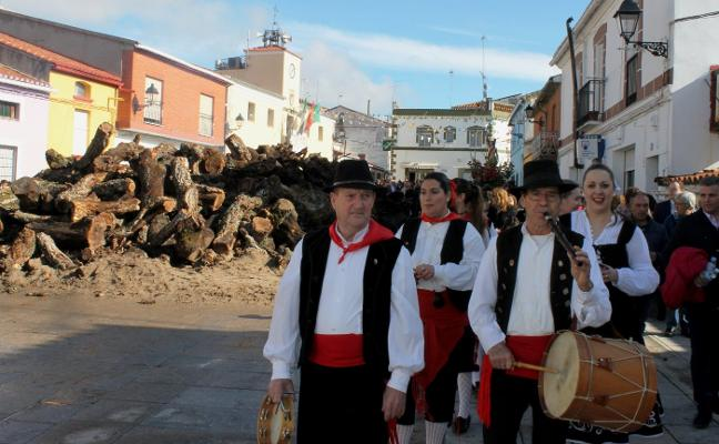 La llegada del tamborilero abrirá las fiestas patronales de Majadas de Tiétar