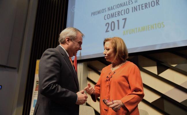 Badajoz recibe el reconocimiento nacional por su apoyo al comercio local