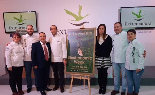La Semana Gastronómica de Extremadura se celebrará en Londres del 20 al 27 de marzo