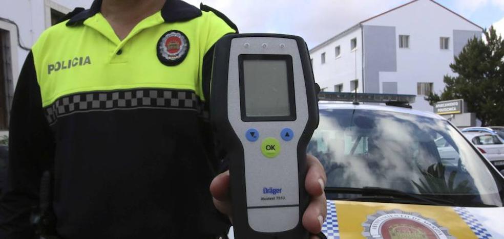 Un tercio de los conductores que ha hecho un test de alcoholemia en Mérida ha dado positivo