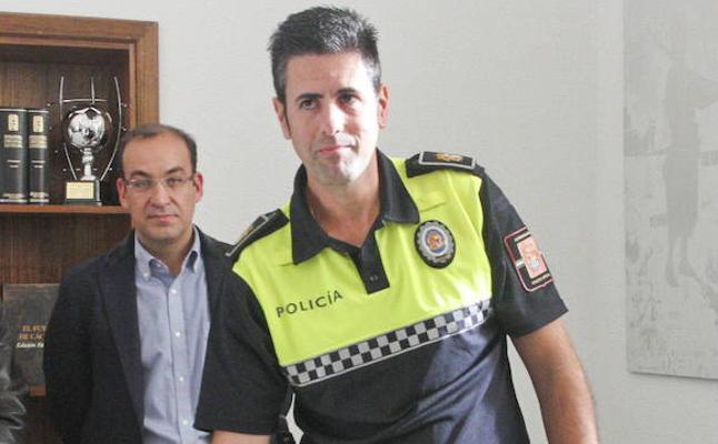 Benedicto Cacho, nombrado nuevo jefe de la Policía Local de Cáceres