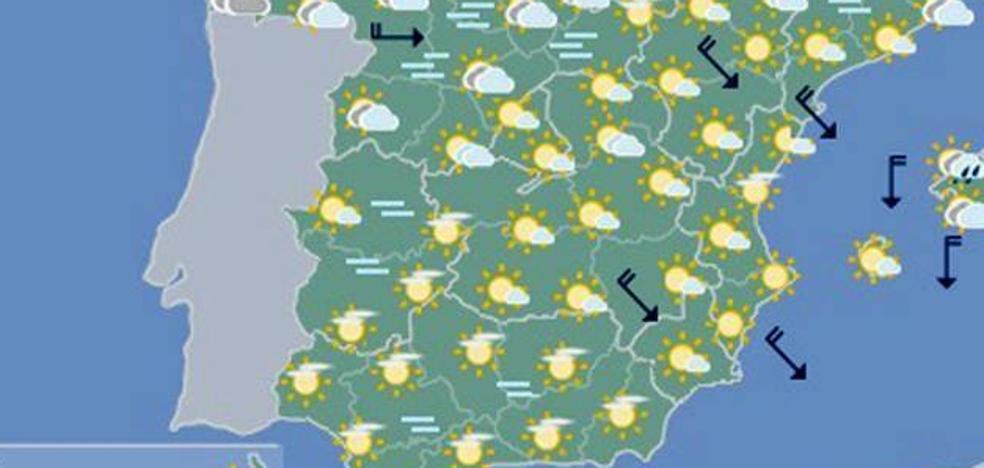 Las temperaturas alcanzarán los 18 grados este sábado en Extremadura