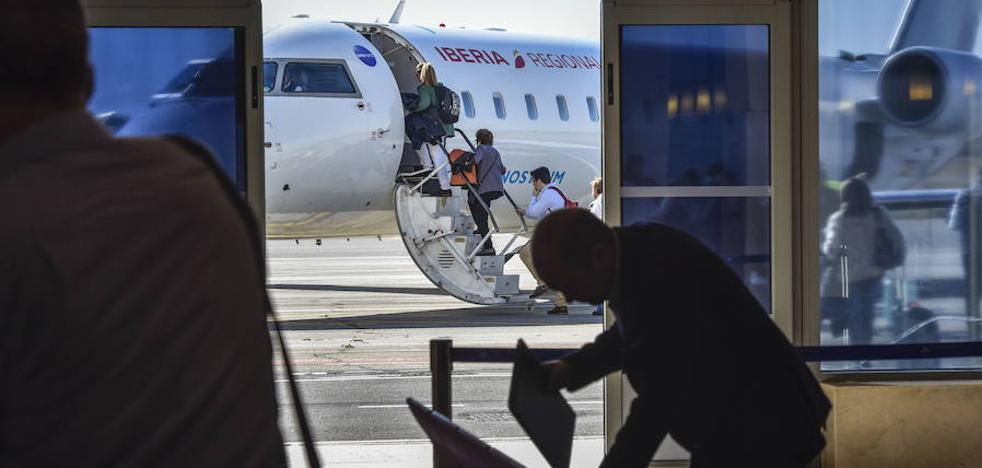 Extremadura saca la convocatoria del contrato aéreo por casi 2,5 millones
