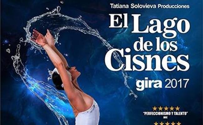 Ballet de 'El lago de los cisnes' en el Palacio de Congresos de Cáceres