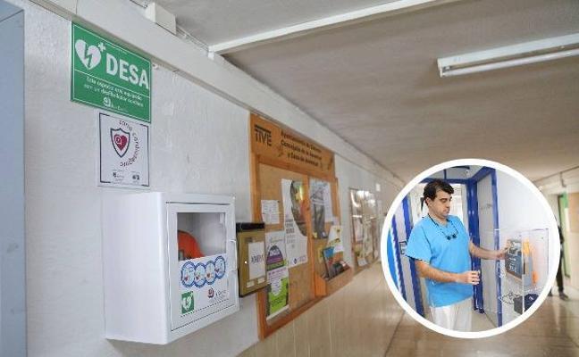 Aumenta el interés por la instalación de desfibriladores en lugares públicos