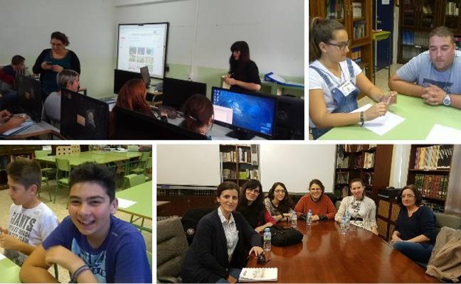 Una comunidad radiofónica de institutos de la región