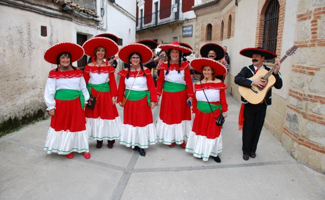 Matanza, concursos y desfiles, en el Carnaval de Huertas