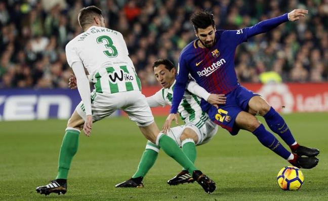El Barça no logra desarmar al Betis