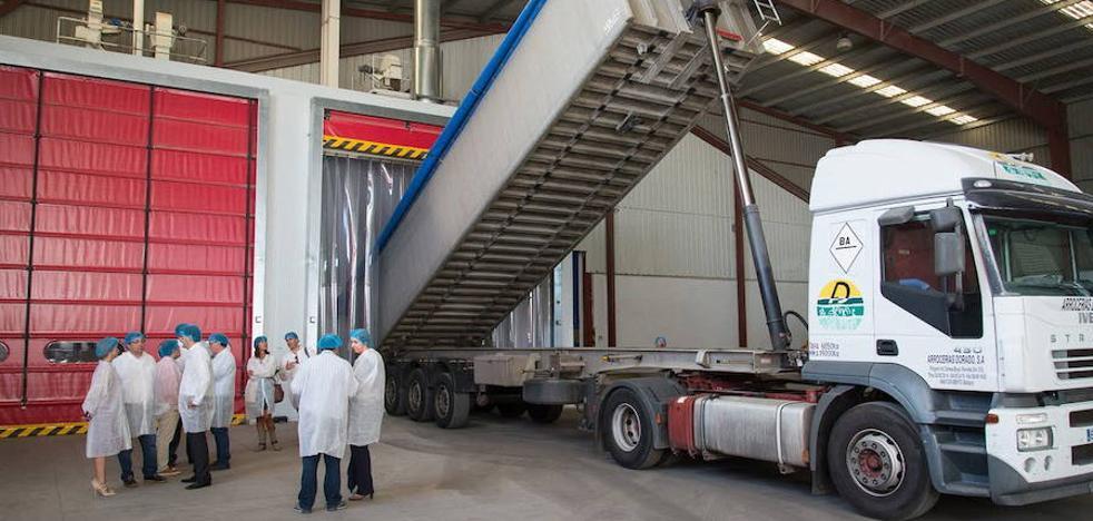 La planta de Arrocerías Pons amplía sus instalaciones en Don Benito