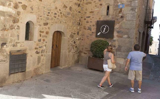 La Concejalía de Turismo de Cáceres se trasladará al edificio de la calle Tiendas