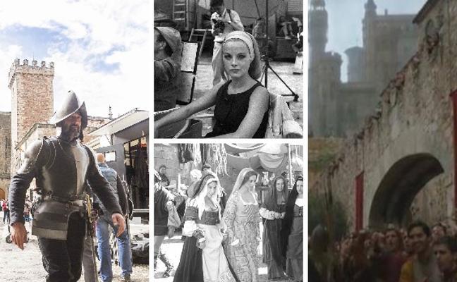 Cáceres se promociona como plató de cine y televisión