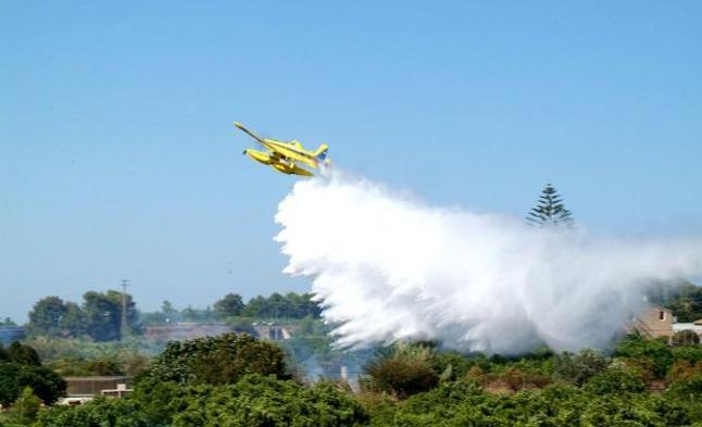Licitada por 1,8 millones la contratación de dos aviones anfibios para combatir los incendios