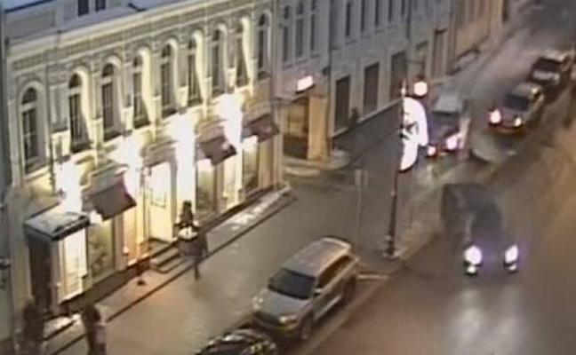 Atropello en Moscú