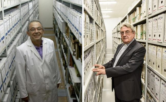 Fernando Jiménez Berrocal y Teodoro Agustín López, en Aula HOY