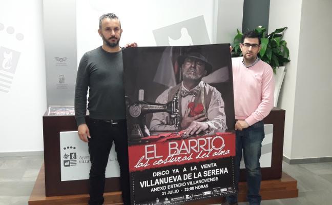 'El Barrio' actúa el día 21 de julio en Villanueva