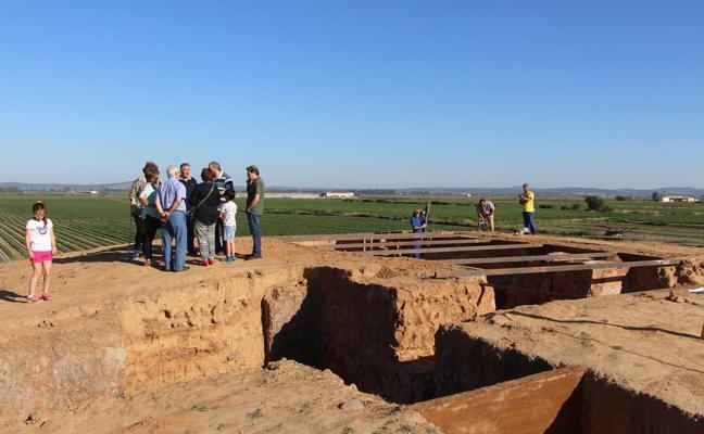 Conferencia en Mérida sobre el yacimiento arqueológico de Guareña