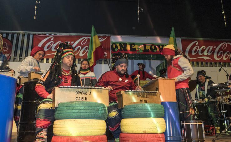 Tamborada celebrada este viernes en Ifeba