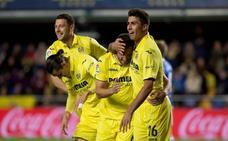 El Villarreal resuelve en la primera parte