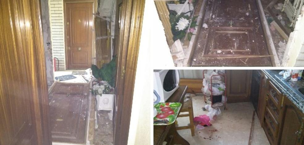 Rescatan a una mujer de 85 años tras caerse en su casa y sufrir un incendio en la cocina