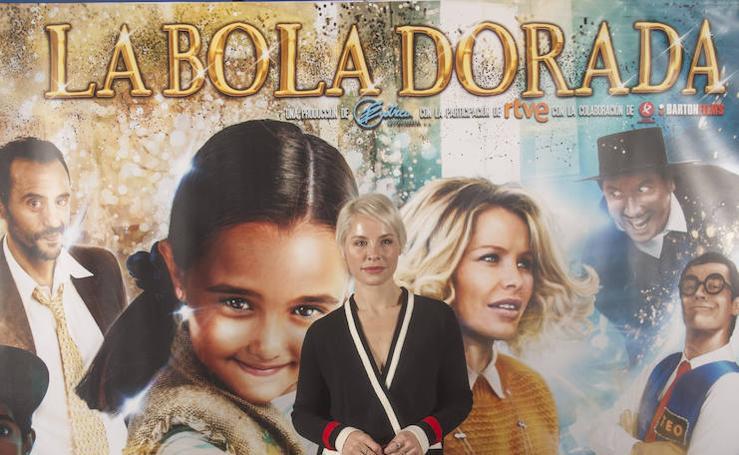 Presentación en Madrid de la película extremeña 'La bola dorada'