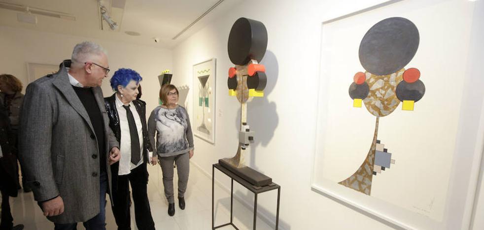 Miguel Sansón expone en Cáceres 'Maters matris'