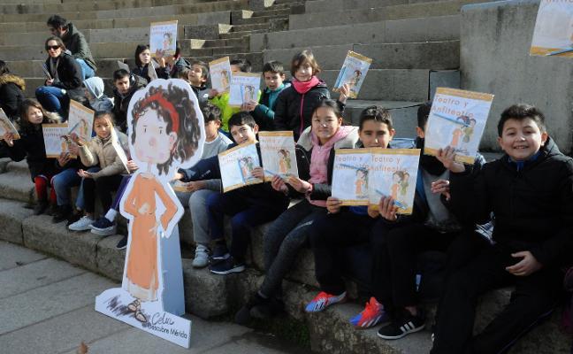 Celia enseñará los monumentos de Mérida a los niños