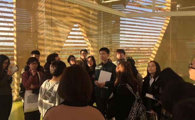 Visita china al nuevo Palacio de Congresos de Villanueva