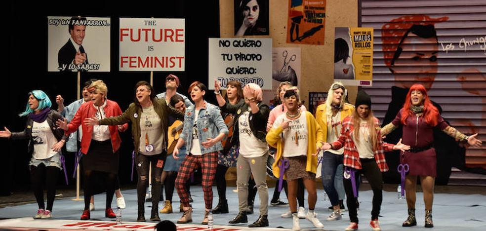 A Femen le toca la Lotería