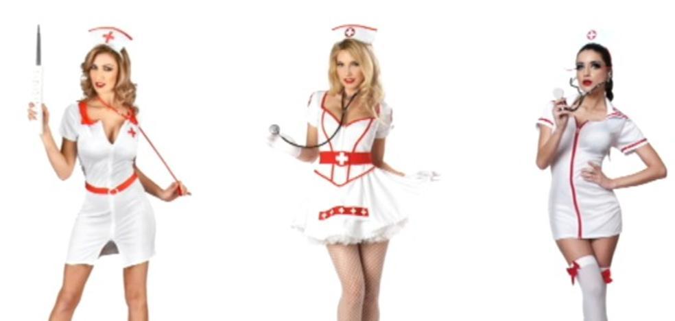 Denuncian los disfraces de enfermera sexy por denigrantes