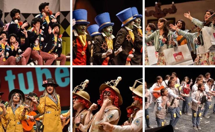 Cuarta jornada de preliminares del concurso de murgas de Badajoz