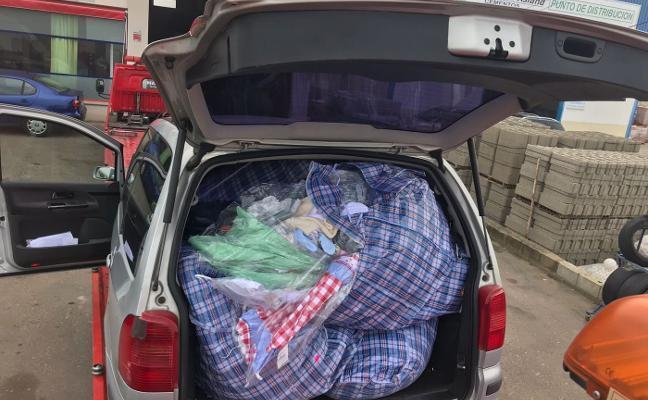 Recuperan en Villanueva una carga de ropa robada en una tienda de Castuera