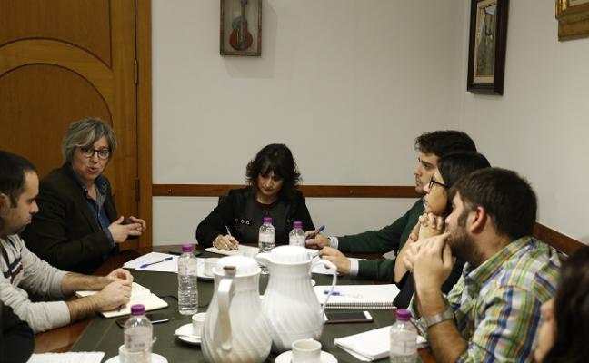 Leire Iglesias conoce las reivindicaciones moralas en cultura, igualdad o deportes