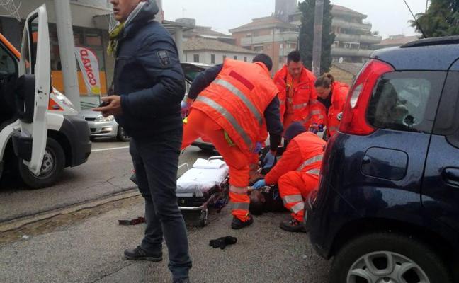 Al menos siete heridos en Italia por disparos de un individuo a bordo de un vehículo