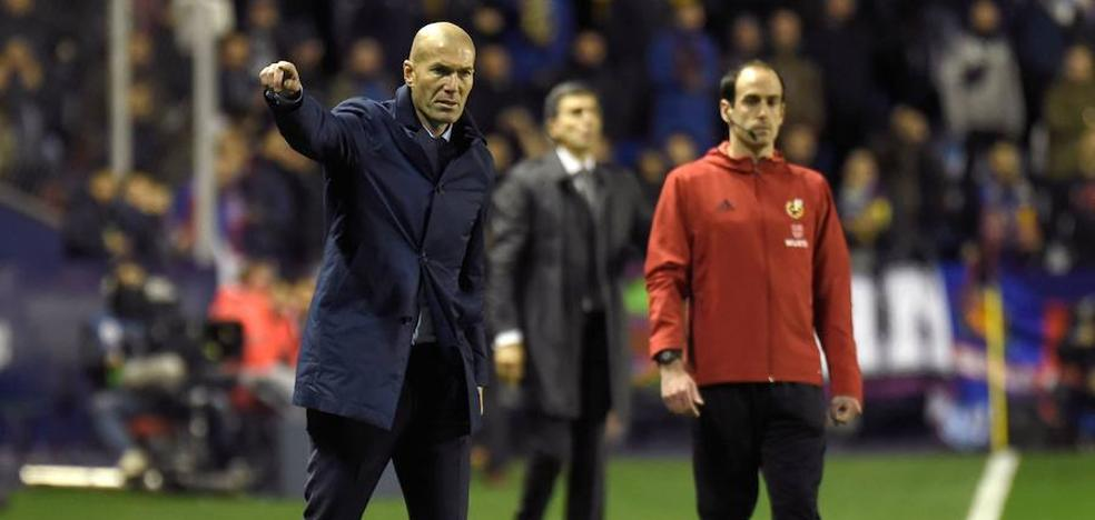 Zidane, «decepcionado» tras «hacer lo más difícil: marcar goles»