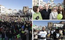 Más de 1.500 personas exigen a Junta y Ayuntamiento de Cáceres que actúen contra la mina