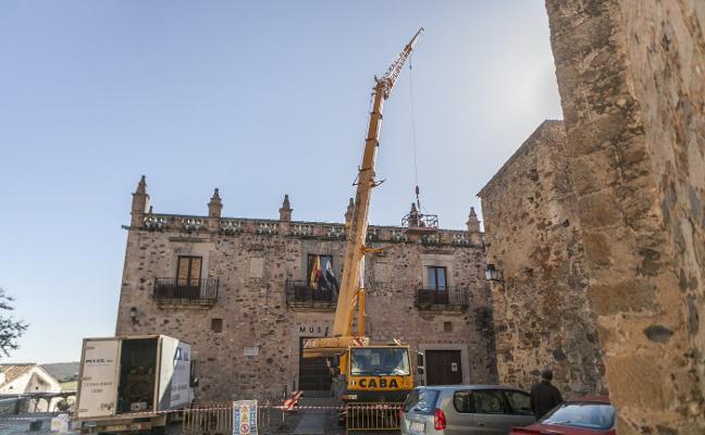 El Museo de Cáceres potencia la anidación del cernícalo
