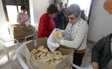 San Blas se quedó sin roscas en Cáceres