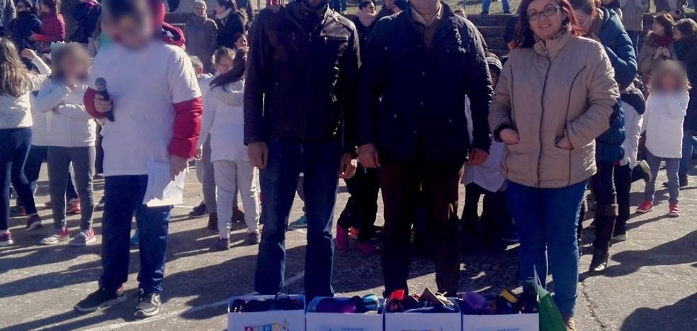 El colegio El Llano de Monesterio recoge gafas para los refugiados saharauis