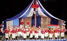 Las murgas ganadoras del concurso juvenil cantarán en las semifinales del Comba