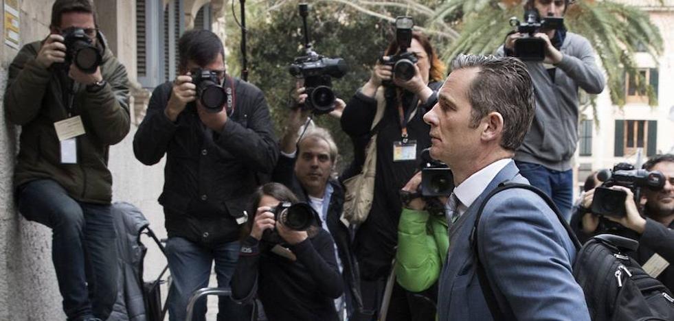 El Supremo estudiará el recurso de Urdangarín contra su condena el 21 de marzo