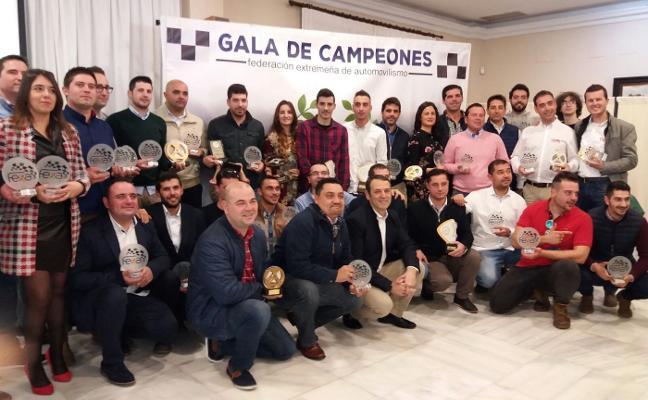 Gala de campeones de la FEXA en Badajoz