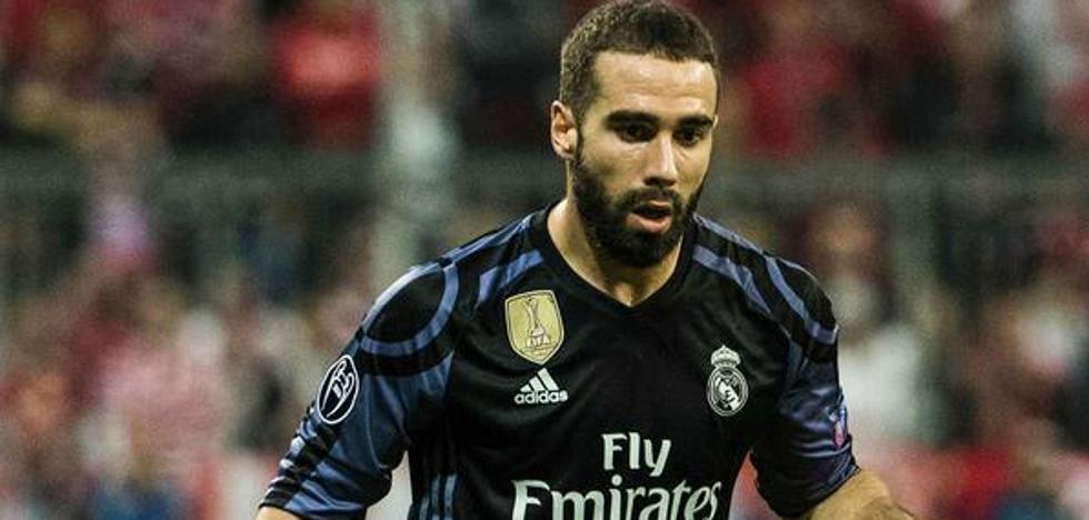 La UEFA mantiene la sanción para Carvajal, que no podrá jugar ante el PSG