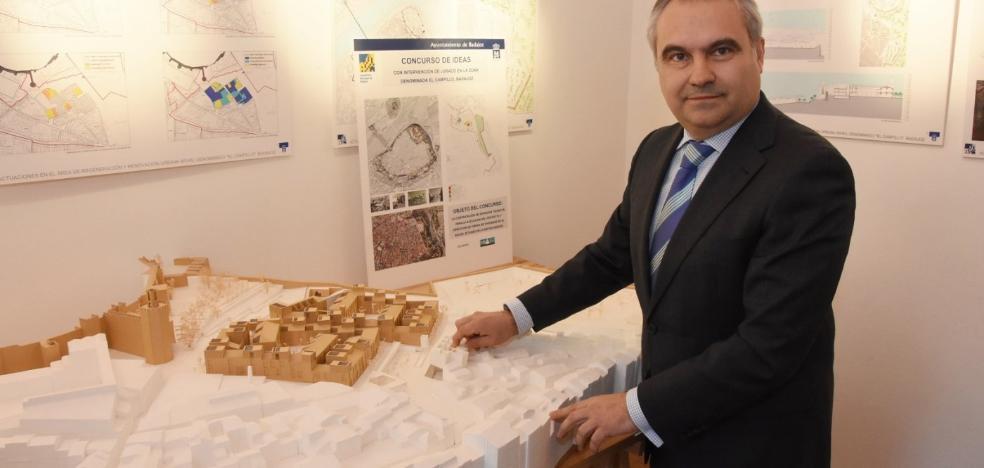 El alcalde de Badajoz espera que las obras del Campillo comiencen este año