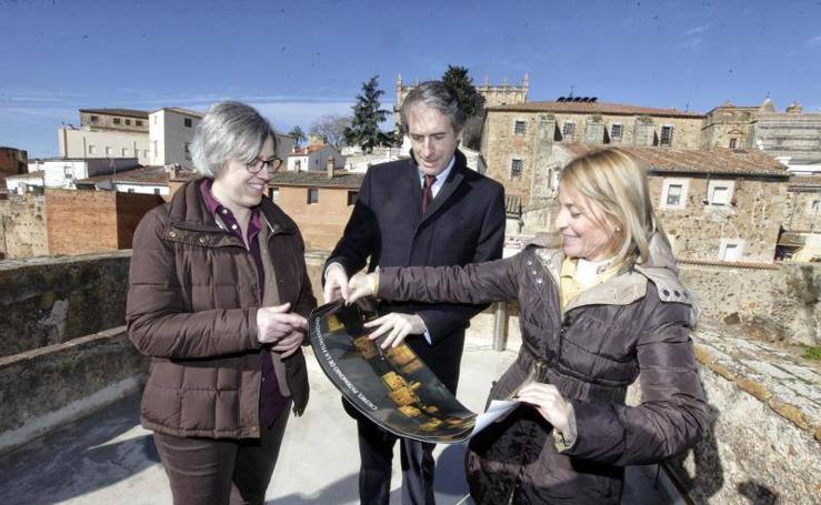 Visita del ministro de Fomento a Cáceres