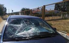 Condenan a un edil de Alcuéscar por dañar el coche de un vecino a hachazos