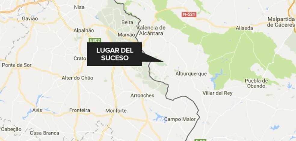 Un trabajador, grave tras caerse de un árbol cerca de San Vicente de Alcántara