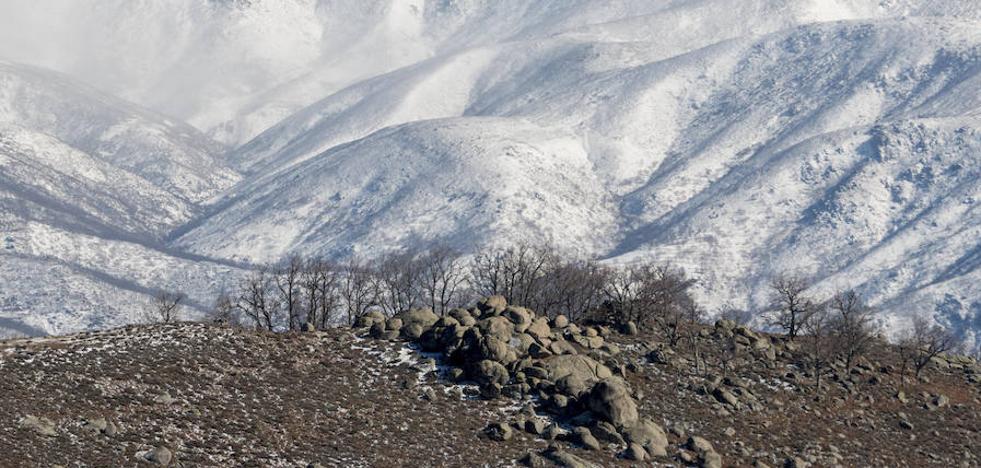 Los termómetros marcaron seis grados bajo cero en Villafranca y Piornal