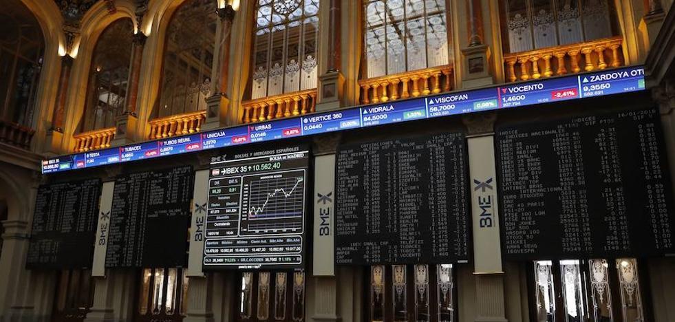El Ibex baja un 2,21% y marca un nuevo mínimo desde marzo