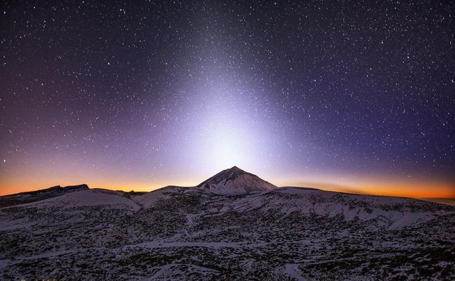 ¿Qué es la luz zodiacal?
